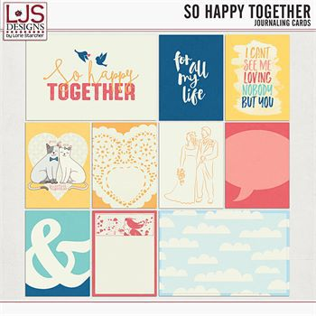 So Happy Together - Journal Cards