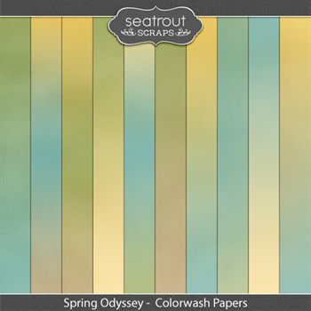 Spring Odyssey Colorwash Papers