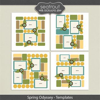 Spring Odyssey Templates