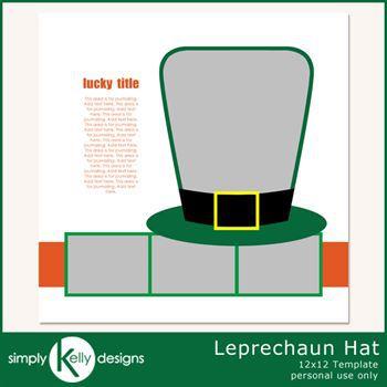 Leprechaun Hat Template