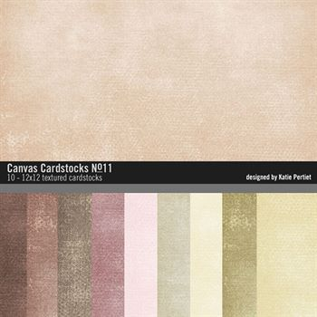 Canvas Cardstocks Paper Pack No. 11
