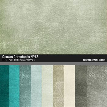 Canvas Cardstocks Paper Pack No. 12