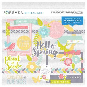 Spring Flower Fields Element Pack