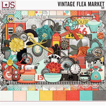 Vintage Flea Market - Kit