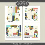 February Fizz Template Set 2