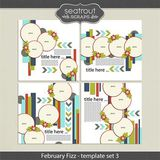 February Fizz Template Set 3