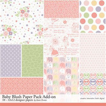 Baby Blush Add-on Paper Pack