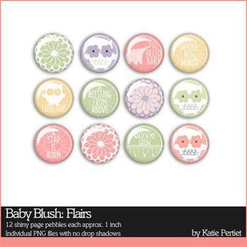 Baby Blush Flairs