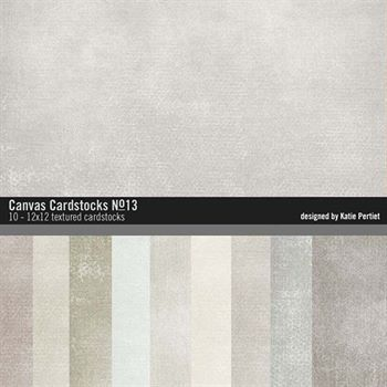 Canvas Cardstocks Paper Pack No. 13