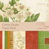 Cotton Easter Paper Pack