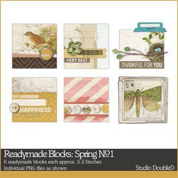 Readymade Blocks Spring No. 01