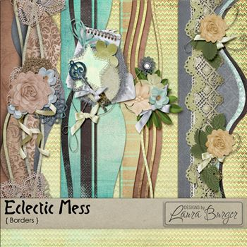 Eclectic Mess Borders