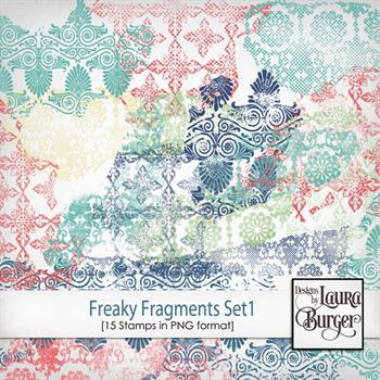 Freaky Fragments Stamps