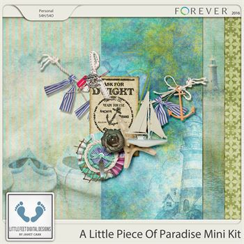 A Little Piece Of Paradise Mini Kit