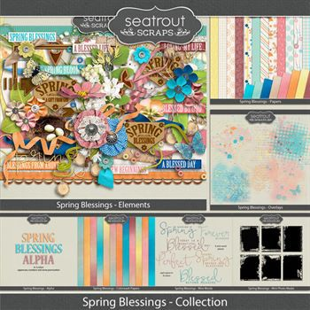 Spring Blessings Bundled Collection