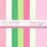 Lily Solids Paper Pack