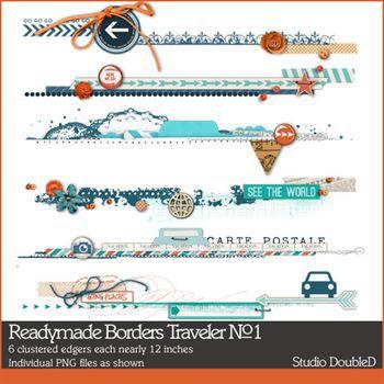 Readymade Borders Traveler No. 01