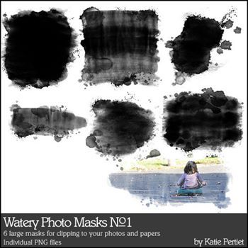 Watery Photo Masks No. 01
