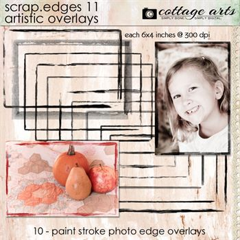 Scrap.edges11 - Artistic Overlays