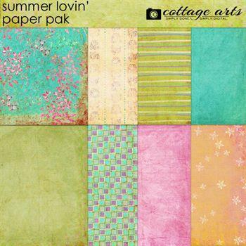 Summer Lovin' Paper Pak