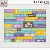 I'm A Believer - Word Art