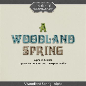 A Woodland Spring Alphas