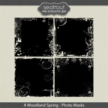 A Woodland Spring Photo Masks