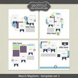 March Mayhem Template Set 3