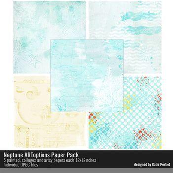 Neptune Artoptions Paper Pack
