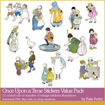 Once Upon A Time Stickers Value Pack