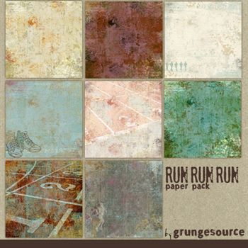 Run Run Run Paper Pack