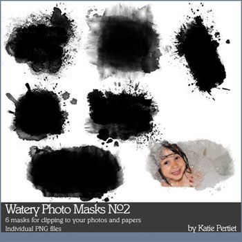 Watery Photo Masks No. 02