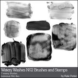 Watery Washes No. 02 Brushes And Stamps