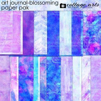 Art Journal - Blossoming Paper Pak