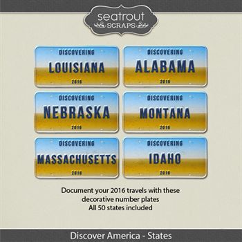 Discover America - States 2016