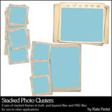 Stacked Photo Clusters