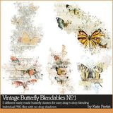 Vintage Butterfly Blendables No. 01
