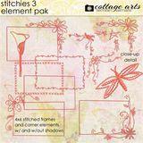 Stitchies 3 Element Pak