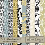 Pretty Pattern Overlays Set 1