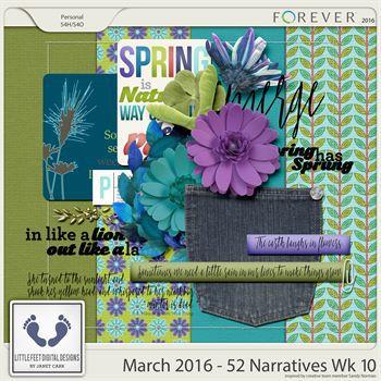 52 Narratives - March Week 10