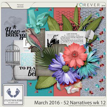 52 Narratives - March Week 12