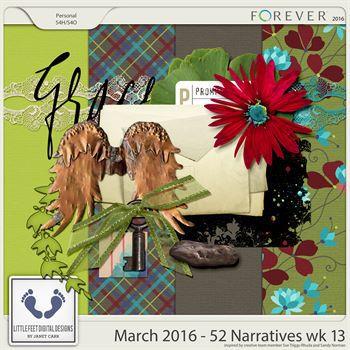 52 Narratives - March Week 13