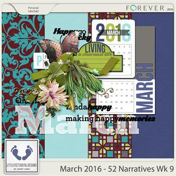 52 Narratives - March Week 9