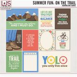 Summer Fun - On The Trail - Journal Cards