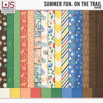 Summer Fun - On The Trail - Papers