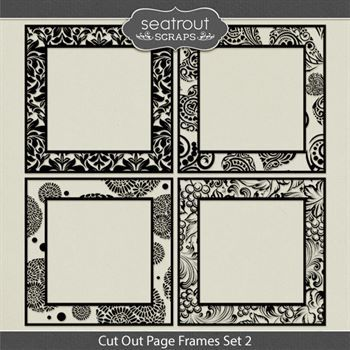 Cut Out Page Frames Set 2