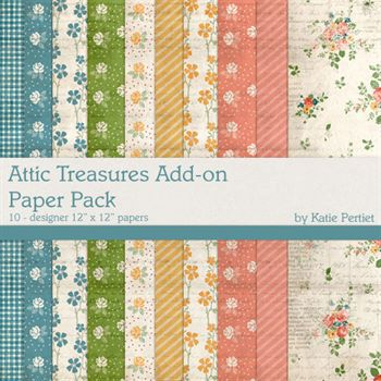 Attic Treasures Add-on Paper Pack
