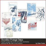 Shoreline Postage Strips