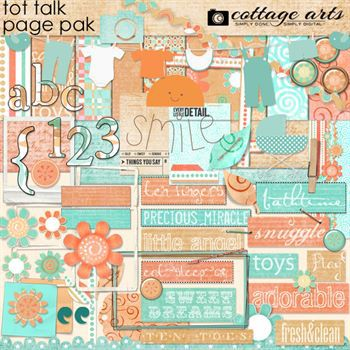 Tot Talk Page Pak with Alphaset