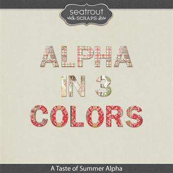 A Taste Of Summer Alpha Sets